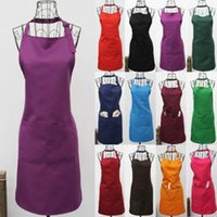 Wholesale Fashionable Polyester CRAFT COMMERCIAL RESTAURANT KITCHEN APRON Colour