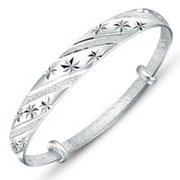 american meteor - Korean fashion silver jewelry meteor shower sliding ring female models fine silver bracelet Valentine s Day gift to send his girlfriend