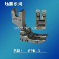 industrial material - Juki Brand Presser Foot SPK With Rollers For Industrial Lock stitch Sewing Machine Series For Leather Material Use Brand New