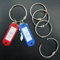 Acheter Classeurs à anneaux-Les anneaux de reliure de livre de livre de 50mm de livre d'expédition de DHL attachent le porte-clés en vrac d'album DIY de Scrapbook d'anneau de feuille