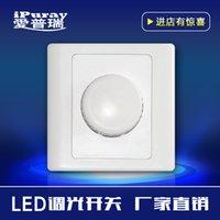 Wholesale Ai Purui smart key knob LED TRIAC dimming switch v wall type type dimmer D210