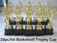 trophy award - pc Plastic Sport Trophy Cup Kit Souvenir Basketball Trophy Cup Gift Gold award trophy cup For kid CNBA