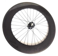 bicycle gears parts - Fixed Gear carbon wheels mm C Clincher fixie bike parts full carbon Bicycle Wheels