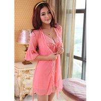 Wholesale Genuine according to Shu pajama factory explosion models heron nylon mesh lingerie Lingerie three piece Dress