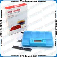 drugs - Electronic Multi Alarm Timer Pills Case Medicine Reminder Drug Box Pills Reminder Medicine Box