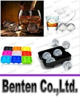 Wholesale Hot New Arrival Bar Drink Whiskey Sphere Big Round Ball Ice Brick Cube Maker Tray Mold Mould LLFA4758F