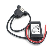 Wholesale Car Charger Converter V To V A W Step Down Module With USB Cable