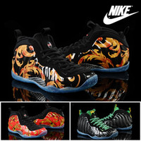 foamposite - Nike Air Foamposite One Hardaway Men Basketball Shoes Authentic High Quality Sneakers Mens Cheap Retro Sports Boots Leather