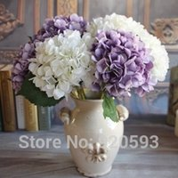 Wholesale cm Artificial Flowers Hydrangea flowers colors Home decorations for wedding party photography