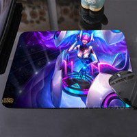 Wholesale Anime DJ Sona Concussive Mouse Laptop Mouse Pad Silicon Cool Non Skid Desk Gaming Mouse Pad