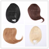 Wholesale 7 Inch Clips B A Human Hair Extension Clips in Hair Bangs