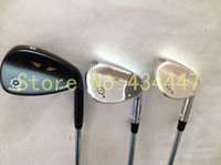 Wholesale 3PCS Vokey SM5 golf wedges degree black silver Champagne AAA golf clubs Sm5 wedges right hand