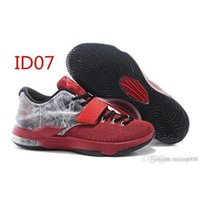 Cheap 2015 Famous kinds of KD 7 Men Basketball Shoes Sneakers Outdoor Shoes 1 pair of Freeshipping