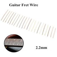 Wholesale 22pcs set inch mm Copper Material Guitar Fret Wire Fretwire Fit for ST LP SG Electric Guitar order lt no track