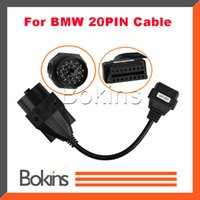 Wholesale OBD OBDII Adapter for BMW pin to OBD2 PIN Female Connector e36 e39 X5 Z3 for BMW pin