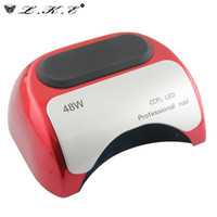 Wholesale LKE w v v US EU AU UK Plug LED Gel Nail Curing UV Light Lamp Nail Art Polish LED Nail Dryer Lamp for Manicure