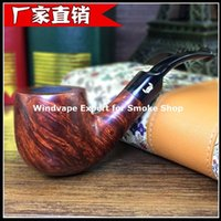 Cheap wholesale Denmark briar tobacco smoking pipe 3mm metal filter Christmas gift sets