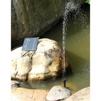 Wholesale Solar Power Water Pump with Separate Solar Panel Long cable Watt Solar Power Fountain Free ePacket