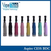 Cheap Wholesale- Atomizer Aspire CE5-s BDC Clearomizer BDC Atomizer Bottom Dual Coil vaporizer Aspire BDC CE5 S EGO Atomizer replacement tank