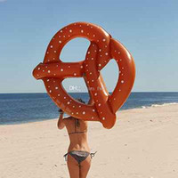 Wholesale 10pcs a summer style donut pool float Swimming Float Inflatable Swimming Ring Adult pool floats Free By DHL UPS FedEx