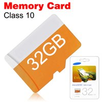 Wholesale Class EVO GB GB GB Micro SD Card MicroSD TF Memory Card C10 Flash SD Card Real Capacity with Retail Package