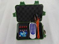 4 Gruppi fuochi d'artificio di accensione apparecchiature System + di sicurezza elettronica creativa sicurezza Wire Igniter regalo di San Valentino codice fisso Wireless Switch