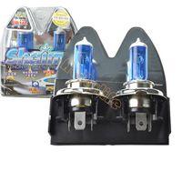Wholesale 2x New H4 New Super White Xenon Car Headlight Bulbs Halogen Lamp Kit V W K