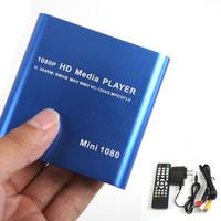Wholesale Mini P Full HD Portable Full HD Multi Media Player support MKV RM SD USB HDD HDMI L0192433