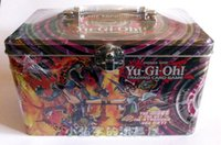 Wholesale Konami Yugioh trading card game booster pack collectors tin yugioh card set genuine box package for children party game