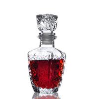 beer glass styles - Brand New Diamond Style ml Glass Wine Bottle Wine Water Jug Whiskey Beer Bottle Wine Decanter Dispenser Liquor Shaker order lt no track