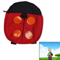 backpack safety for kids - Baby Child Safety Harness Backpack Anti lost Walking Wings For Kids months to years old Ladybird Shape Red