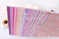 album scrapbook kit - inch Lover Letter Scrapbook Kit DIY Photo Album Background Art Paper Of sheets