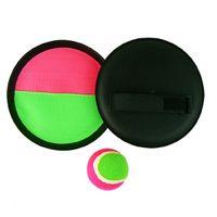 beach badminton - Hot New Hot Cool Plastic Throw Catch Bats Furry Ball Outdoor Play Beach Toy Hot drop shipping