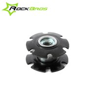 Wholesale ROCKBROS quot mm Bike Bicycle Steer Tube Headset Aluminum Star Nut g