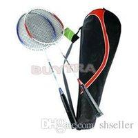 Wholesale 2014 Holiday Sale high strength Durable Carry Bag Badminton Racket Aluminium Alloy Light weight Racquet A5 A5