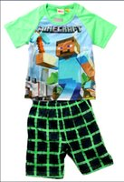 Minecraft Clothing. Clothing. Minecraft Clothing. Showing 48 of results that match your query. Search Product Result. Youth: Minecraft-Vintage?Creeper Apparel Kids T-Shirt - Blue. Product - Minecraft Little Boys White Short Sleeve 2 Pc Pajama Set. Product Image. Price $