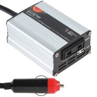 automatic power inverter - 200W Automatic Thermal Shutdown Car Power Inverter Adapter Convert DC V to AC V USB V CEC_304