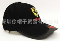 Wholesale color Ferr7ari Racing caps with logo sports baseball cap embroidery racing motorcycle F1 cap