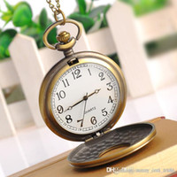 Wholesale Toys personalized retro pocket watch pocket watch Binary shop stall selling Korean jewelry pocket watch pocket watch
