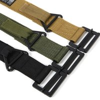 canvas belts - New Outdoor Brand Tactical New Military Blackhawk CQB CS Belt Outside Strengthening Canvas Waistband Belts Factory Price Free DHL Shipping