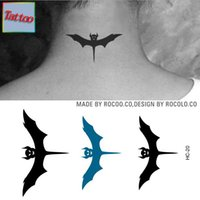 bat tattoos - Temporary tattoos Waterproof tattoo stickers body art Painting for party event decoration mystical bat