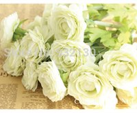 artificial ranunculus - new arrival simulation colorful ranunculus artificial flowers decorate holding flowers silk flower