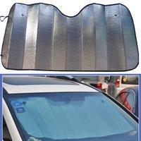 Wholesale 1PCS Car Folding Heat Reflective SunShade Front Windshield Visor Windown Cover