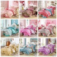 Wholesale New Coming Cotton Princess Girls Bedding Sets Queen King Size Duvet Quilt Cover Comforter Bed Set Spreads Pillow Cover For Kids
