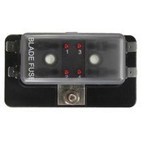 Wholesale Car Boat Circuit Way ATO Blade Fuse Box Holder LED Blown Warning order lt no track