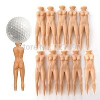 Wholesale NEW Individual Beauty Golf Tee Multifunction Nude Lady Divot Tools Tees Golf standpk1
