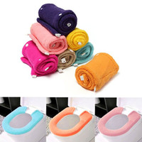 Wholesale All Shape Bathroom Warmer Toilet Closestool Washable Soft Seat Cover Pad Cushion