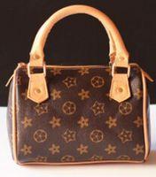 designer baby bag - New est Kids Tote Bag Stylish Child Handbag Designer Kid Girl Purses Shoulder bags Fashion Children Handbags Mini Baby BAG Christmas Gift