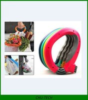 Wholesale AAAA quality One Trip Grip Bag Holder Easy Carrier Handle Useful Grocery Shopping Bag Retail Package