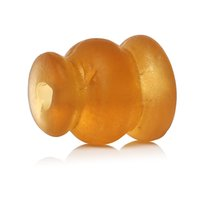 amber vases - Lampwork Glass Beads Vase Shape Amber Frosted About mm quot x mm quot Hole Approx mm new